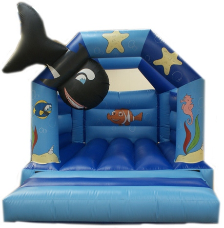 3D Under the sea bouncy castle