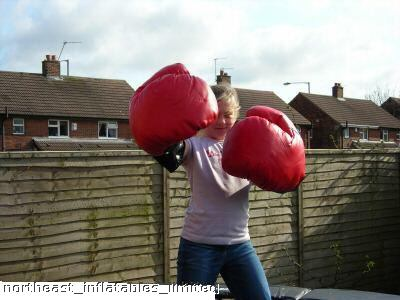 Bouncy Boxing Gloves Hedge End Eastleigh Southampton Hampshire