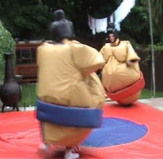 Sumo Wrestling Suits Hedge End Eastleigh Southampton Hampshire